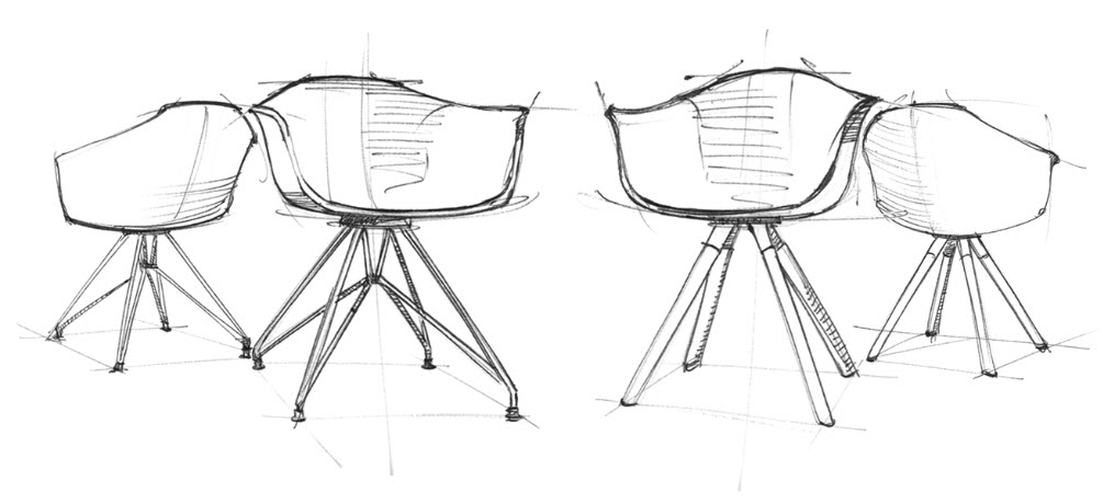 Moda Armchair Concept By WAD